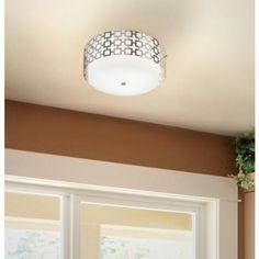 """jonathan adler parker 15 1/4"""" flush mount ceiling light"""