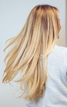 beautiful blonde color