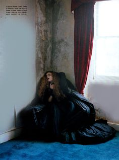 """Dreaming of Another World"" featuring Guinevere van Seenus photographed by Tim Walker."