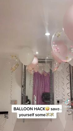 18th Birthday Party Ideas Decoration, 18th Birthday Party Themes, Birthday Goals, Birthday Balloon Decorations, 20th Birthday, Birthday Party Decorations, Birthday Ideas, Party Hacks, Ideas Para Fiestas