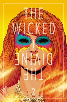 The Wicked + The Divine cover #2 by Jame McKelvie