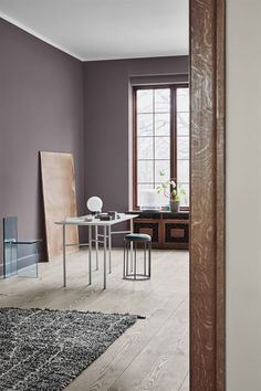 The Scandinavian Interior Colour Trends Of 2019 From Jotun Lady images ideas from Home Inteior Ideas Loft Interior, House Paint Interior, Interior Paint Colors, Interior Design, Dulux Paint Colours 2019, Interior Ideas, Dark Interiors, Colorful Interiors, Wall Colors