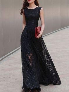 vestido oscuro