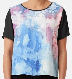 Niina Niskanen is an independent artist creating amazing designs for great products such as t-shirts, stickers, posters, and phone cases. Watercolor Circles, Watercolor Texture, Watercolor Pattern, Yellow Art, Green Art, Blue Art, Mermaid Art, Conceptual Art, Watercolors