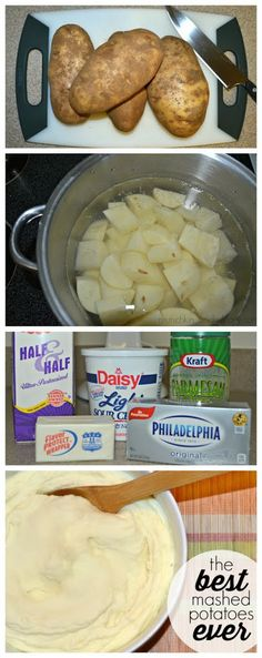 Mashed Potatoes Recipe - a super easy recipe for creamy and tasty potatoes!