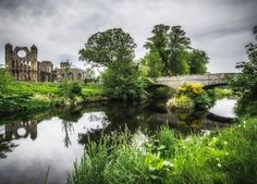 River Lossie & Elgin Cathedral