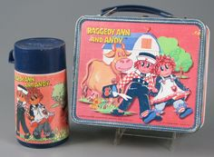 Raggedy Ann lunchbox..I didn't have this character but I had Shawn Cassidy...