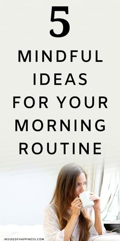 5 Mindful things you could every morning for inner peace and tranquility. #mindfulmorningroutine #morningroutine Daily Routine Schedule, Daily Routines, Healthy Morning Routine, Morning Routines, 5am Club, Night Routine, Get Your Life, Self Improvement Tips, Spiritual Health