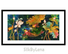 Acrylic Painting GICLEE Print Of Original Acrylic от SilkByLena