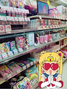 Sailor Moon display at the new Tokyo Central and Main in Gardena, California! Cristal Sailor Moon, Sailor Moon Crystal, Sailor Jupiter, Sailor Venus, Sailor Mars, Sailor Scouts, Sailor Moon Funny, Sailor Moon Art, Sailor Moon Merchandise