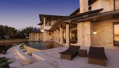 Pool Lakehouse Design, Pictures, Remodel, Decor and Ideas - page 22 Outdoor Swimming Pool, Swimming Pools, Kidney Shaped Pool, Outdoor Flooring, Rustic Contemporary, Swimming Pool Designs, Commercial Design, Architect Design, Architectural Elements