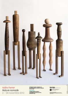 ∷ Variations on a Theme ∷ Collection of Isidro Ferrer wood assemblages Creation Art, Found Object Art, Art Sculpture, Assemblage Art, Wooden Art, Wooden Dolls, Recycled Art, Wood Turning, Altered Art