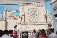 Ceremonia civil en una terraza del centro de Sevilla. Organización de boda en Sevilla. Wedding Planner, La Organizadora de Sueños
