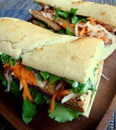 Tofu Banh Mi | Recipe Binder