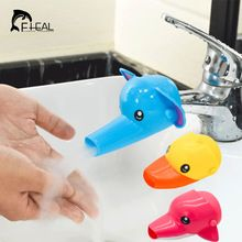FHEAL 1 pc Lovely Cartoon Faucet Extender For Kid Children Kid Hand Washing in Bathroom Sink Accessories