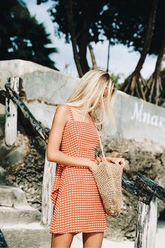 Faithfull The Brand Delivers On All Things Boho Style With This Latest Drop - summer outfits - Mode Outfits, Trendy Outfits, Fashion Outfits, Fashion Clothes, Womens Fashion, Fashion 2016, Plaid Outfits, Stylish Dresses, School Outfits