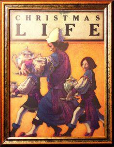 Life Magazine, Maxfield Parrish