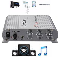 ELEGIANT 200W 12V Super Bass Mini Hi-Fi Stereo Amplifier Booster Radio MP3 for Car Home Bus Boat