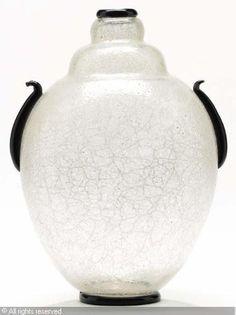 Ercole Barovier (1889-1974), 'Primavera' glass vase, 1929/30. Made by Vetreria Artistica Barovier & C.