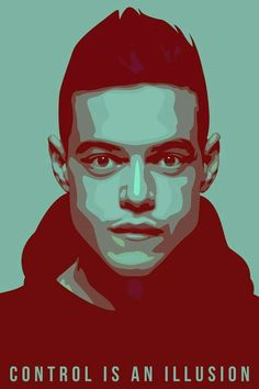 Read mr robot from the story fondos de pantalla by Jeniferthegeek with 270 reads. Mr Robot, Vector Portrait, Digital Portrait, Robot Wallpaper, Rami Malek, Ex Machina, Portrait Illustration, Film Serie, Anime
