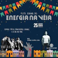 Memorial da América Latina | Festa Junina do Energia na Véia com Titãs e C&C Music Factory. Quer saber mais? Acesse: www.baladassp.com.br/ Infos no Whats: 95167-4133