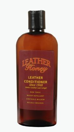 Amazon.com: Leather Honey Leather Conditioner, the Best Leather Conditioner Since 1968, 8 Oz Bottle. For Use on Leather Apparel, Furniture, Auto Interiors, Shoes, Bags and Accessories. Non-Toxic and Made in the USA!: Automotive