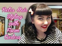 how to use foam rollers on wet hair