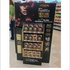Popon | Image Gallery | L'Oreal Mousse Absolue Floor Display