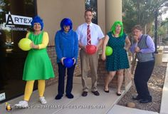 Sadness Made Me Happy – Inside Out Group Costume