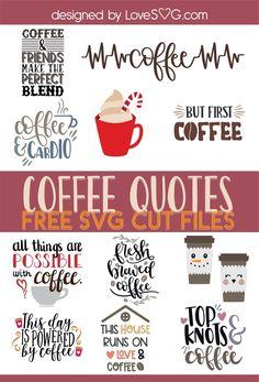 I love a good cup of coffee! Silhouette Cameo, Free Silhouette, Silhouette Studio, Inspirational Coffee Quotes, Cricut Tutorials, Cricut Ideas, Cricut Craft, Coffee Humor, Funny Coffee