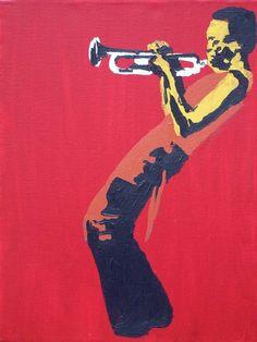 Pop art miles davis no.8