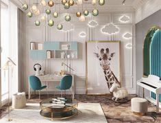 Kids Bedroom Designs, Kids Room Design, Design Bedroom, Baby Room Decor, Bedroom Decor, Nursery Room, Luxury Kids Bedroom, Room Interior Design, Luxurious Bedrooms