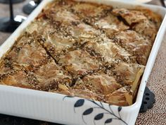 Eggplant Börek | Food & Wine goes way beyond mere eating and drinking. We're on a mission to find the most exciting places, new experiences, emerging trends and sensations.
