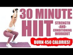 30 Minute HIIT Strength and Conditioning Workout - YouTube
