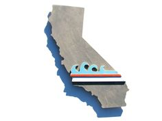 La Olas - California Cutout from 33stewartavenue for $150.00