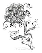 Kristy Werner - Flower Tangle www.kristy-werner.fineartamerica.com