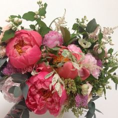 Claudia! I'm so happy we are creating your wedding blooms! Happy day! #bandbweddings