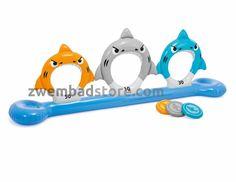 Zwembadstore.com | Intex Sharks Disk Toss - Zwembadstore.com