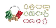 Excellent for cutting out Christmas cookies. Contains 13 cookie cutters and a ring for easy storage. Made of excellent resistant plastic. Christmas Cookie Cutters, Christmas Cookies, Shinee, Handmade Gifts, Etsy, Cookie Dough, Noodle, Cut Out Cookies, Dishwasher