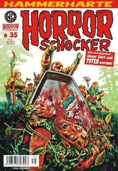 Cover for Horrorschocker (Weissblech Comics, 2004 series) #35 MÄRZ 2014