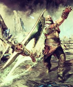 God of War is a third person action-adventure video game developed by Santa Monica Studio and published by Sony Interactive Entertainment. God of. God Of War Game, God Of War Series, Kratos God Of War, Mens Hairstyles With Beard, Viking Sword, Samsung Galaxy Wallpaper, Naruto Kakashi, Gears Of War, Greek Mythology