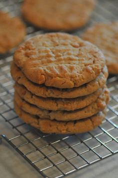 NINE + SIXTEEN: Recipe | The PERFECT Peanut Butter Cookie