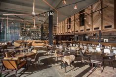 The Refinery (Regent's Place, London, UK), Standalone Bar or Club | Restaurant & Bar Design Awards