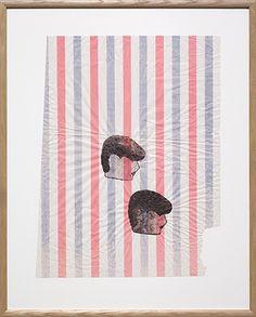 Evren Tekinoktay - PLUTO - The Approach PLUTO, 2014 Drawing on coloured paper, 46.2 x 34.4 cm