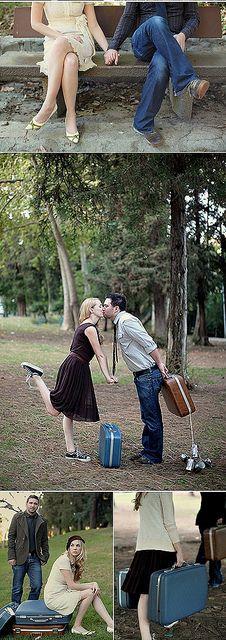 elopement announcement session/engagements