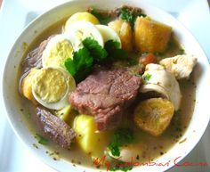 My Colombian Cocina - Pusandao de Carne Serrana