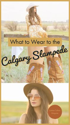 What to Wear to the Calgary Stampede Cowboy And Cowgirl, Calgary, Festival Fashion, What To Wear, Travel Tips, Horse, Lifestyle, Beauty, Travel Advice