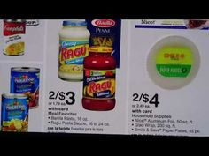 EXTREME COUPONING AT WALGREENS✴RAGU $0.50 EACH/STARTING 9/11-9/17 - YouTube