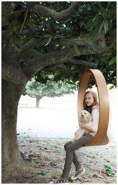 SWING design: Iwona Kosicka #swing #moderndesign #design #wood #kosicka
