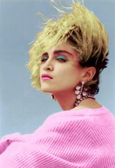 Dramatic and bold from Madonna in the 80s  #80s #hair